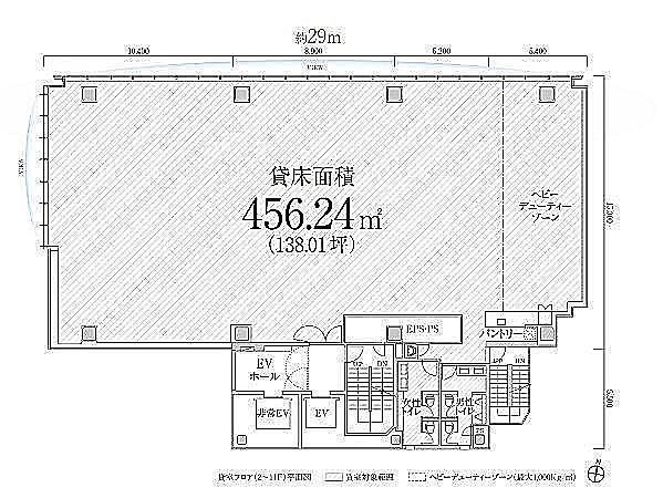 PMO渋谷Ⅱ(旧:PMO渋谷三丁目) 8階の間取り画像