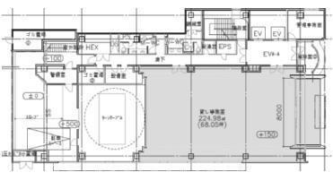 ヒューリック東日本橋ビル 1階(店舗限定)の間取り画像