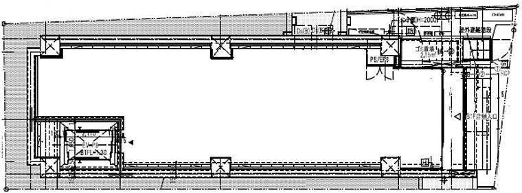 (仮称)ファザーランド渋谷Ⅱ 地下1階(店舗可)の間取り画像