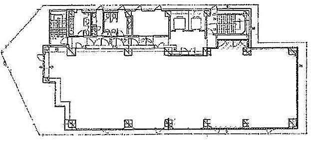 いちご永代ビル 8階801の間取り画像