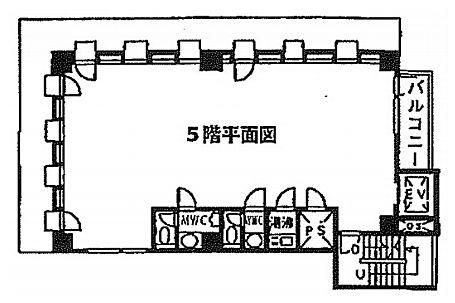 エミナンス九段 5階(店舗可)の間取り画像