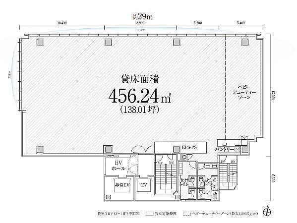 PMO渋谷Ⅱ(旧:PMO渋谷三丁目) 5階の間取り画像