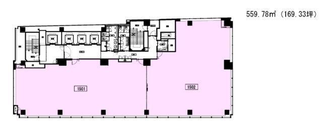 秋葉原センタープレイス 15階の間取り画像