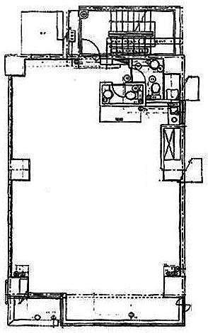 第二野村ビル 4階(店舗可)の間取り画像