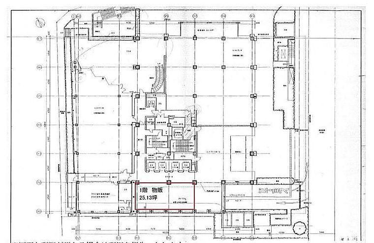 MFPR渋谷ビル 1階(店舗可)の間取り画像
