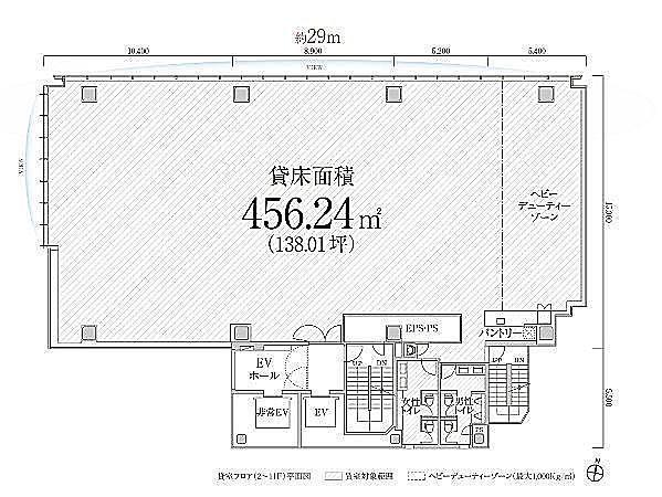 PMO渋谷Ⅱ(旧:PMO渋谷三丁目) 7階の間取り画像