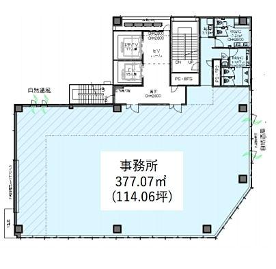 日本橋F BUSINESS CUBE 2階の間取り画像