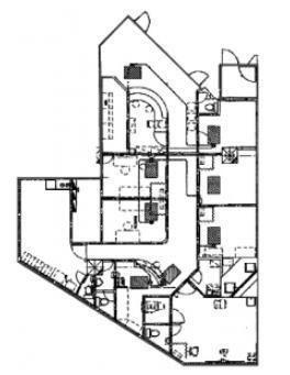 都道府県会館 地下1階(診療所,クリニック限定)の間取り画像