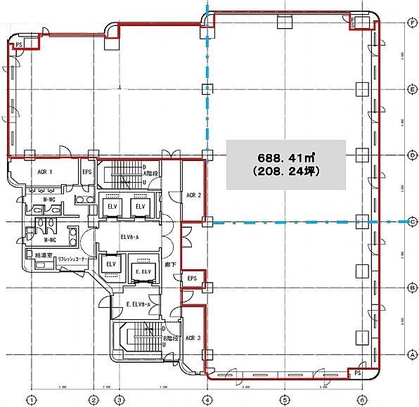 小石川大国ビル 5階の間取り画像