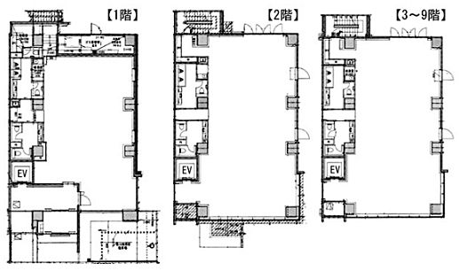 VORT水道橋Ⅲ 1階~9階(一棟貸)の間取り画像