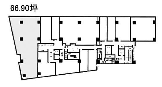 宮益坂ビルディング 2階Iの間取り画像