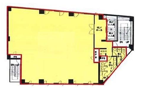ラウンドクロス秋葉原 8階の間取り画像