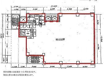 FUSE BLDG.Ⅰ 4階の間取り画像