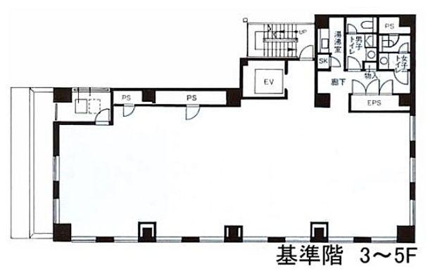 藤和神田錦町ビル 3階の間取り画像