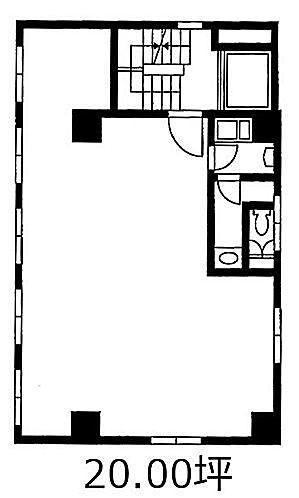 湯島片岡ビル 2階の間取り画像