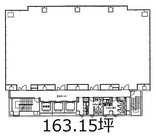 明産西新橋ビル 5階の間取り画像