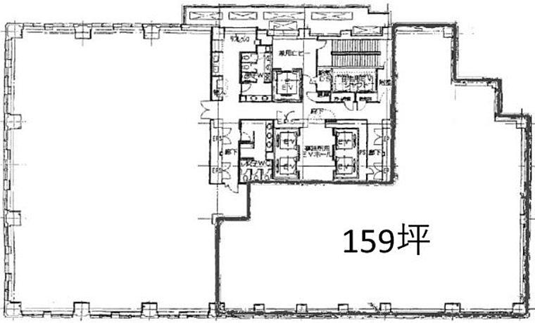 青山タワープレイス 7階の間取り画像