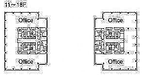 テレコムセンタービル 西棟13階の間取り画像