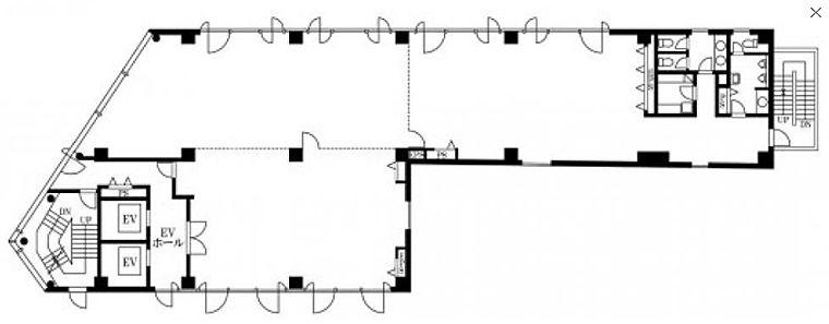 永代橋エコピアザビル 8階の間取り画像