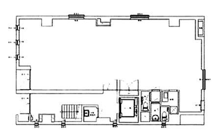 神田東松下町飯田鋲螺ビル 1階の間取り画像