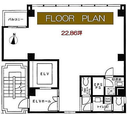 ACN神田錦町ビル 5階の間取り画像
