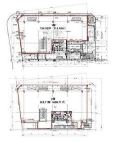PARKWAY SQUARE 3(旧:(仮称)神南一丁目計画) 1階~2階(物販店舗限定)の間取り画像