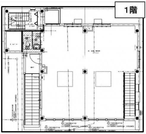 神宮前登喜和ビル 1階(店舗限定)の間取り画像