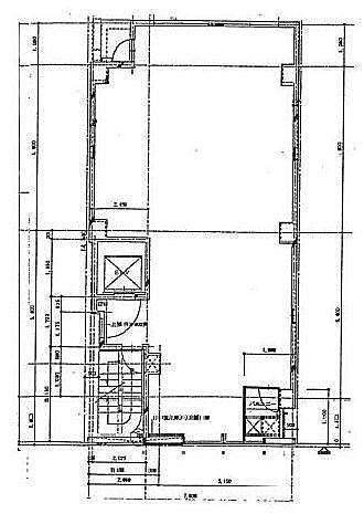 近代グループBLD.8号館 4階(店舗可)の間取り画像