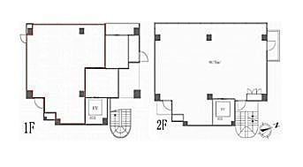 HIS麻布台ビル(旧:(仮称)麻布台ビル計画) 1階~2階(店舗限定)の間取り画像