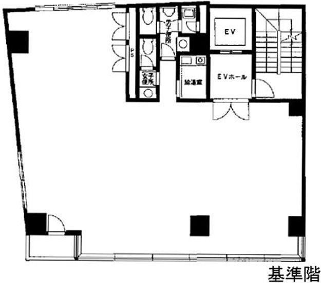 清澤ビル 7階の間取り画像