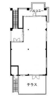 神宮前COURT A 1階(店舗限定)の間取り画像