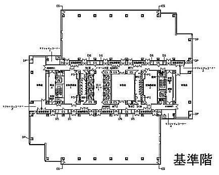 文京グリーンコート センターオフィス 13階の間取り画像