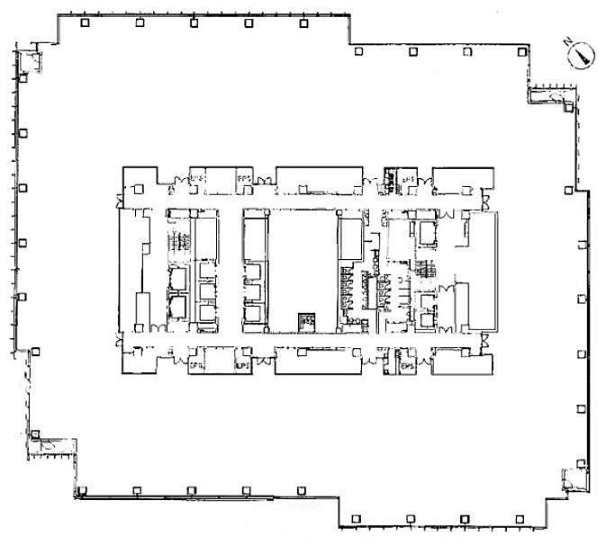 ミッドタウン・タワー 23階2306号室の間取り画像