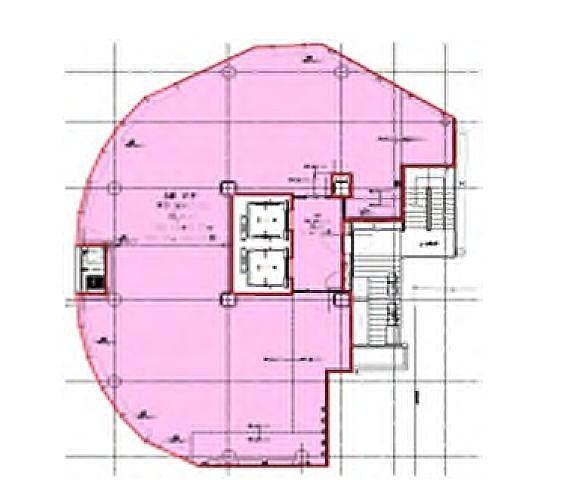 (仮称)宇田川町32開発計画 10階(店舗限定)の間取り画像