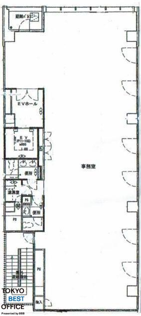 田町第16藤島ビル 9階の間取り画像