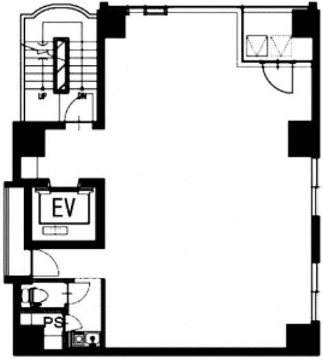 サンリット銀座ビルⅢ 7階の間取り画像