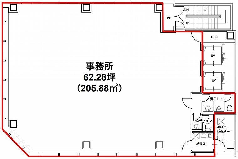秋葉原OSビル 3階の間取り画像