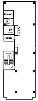 FPG links HARAJUKU 2階(店舗可)の間取り画像