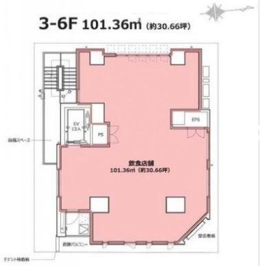 ADsis Daimon 4階(店舗限定)の間取り画像