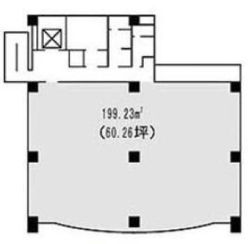 三田ネクサスビル 3階の間取り画像