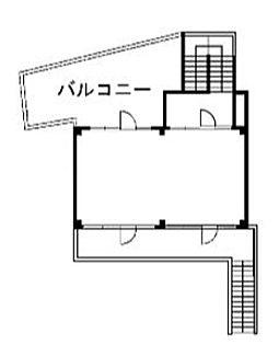 神宮前COURT C 2階(店舗限定)の間取り画像