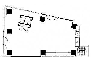 VORT六本木kaleido 4階(店舗限定)の間取り画像
