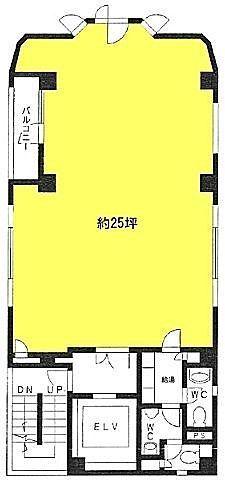 第32荒井ビル(九段南センタービル) 2階の間取り画像