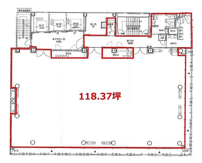 日本橋木村ビル 10階の間取り画像