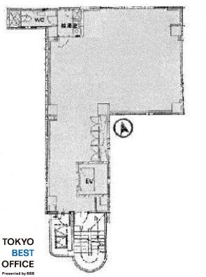 第2二葉ビル 301の間取り画像