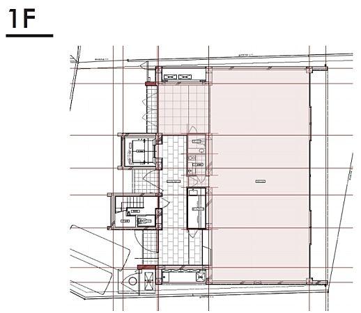 表参道アートワークス(OMOTESANDO ART WORKS) 1階(店舗限定)の間取り画像