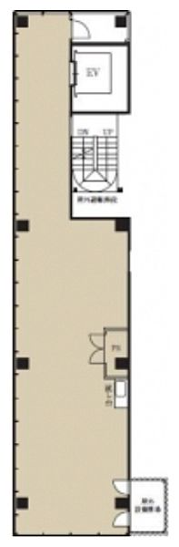 ザ・シティ目黒 8階(店舗可)の間取り画像