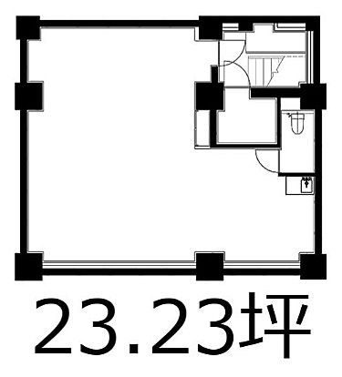 芝公園TCビルディング 地下1階(店舗可)の間取り画像