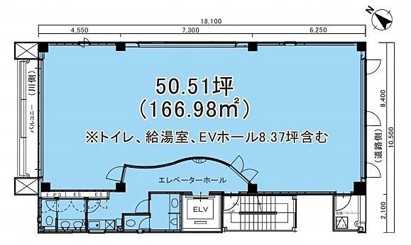 SERECON SQUARE(セルコンスクエア) 5階の間取り画像