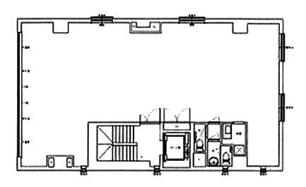 神田東松下町飯田鋲螺ビル 3階の間取り画像